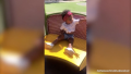 True Thompson at the Playground Khloe Kardashian Instagram Story