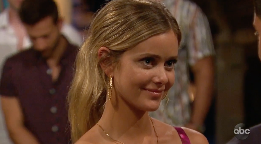 Hannah Godwin Bachelor in Paradise first rose ceremony