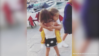 Penelope Disick Carries reign in Cute Video While in Italy