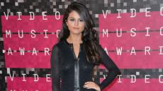 Selena Gomez at the 2015 MTV VMAs