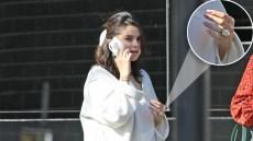 Selena Gomez ring engagement finger