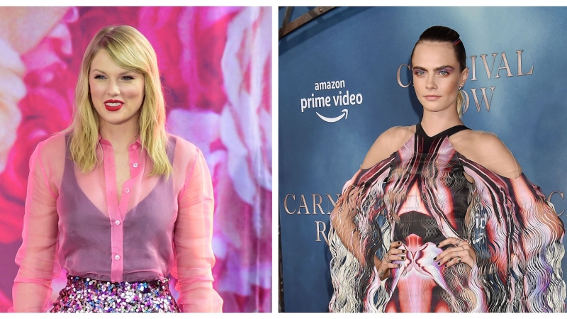 Cara Delevingne Praises Taylor Swift Amid Scooter Braun Feud: 'You Need to Stand Up for Yourself'