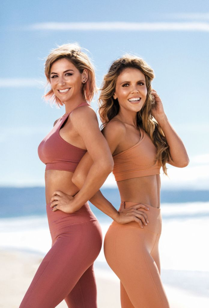 Tone It Up Girls Wearing Workout Outfits