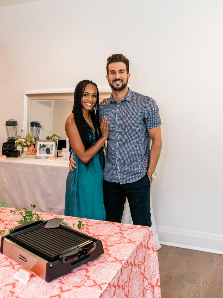 Rachel Lindsay and Bryan Abasolo The Knot Registry Wedding planning