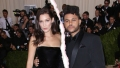 bella hadid the Weeknd Split