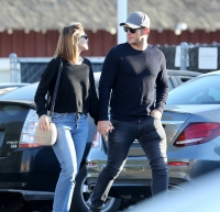 Chris Pratt and Katherine Schwarzenegger Giggle and Hold Hands