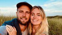 Cressida Bones and Harry Wentworth-Stanley engagement ring nantucket