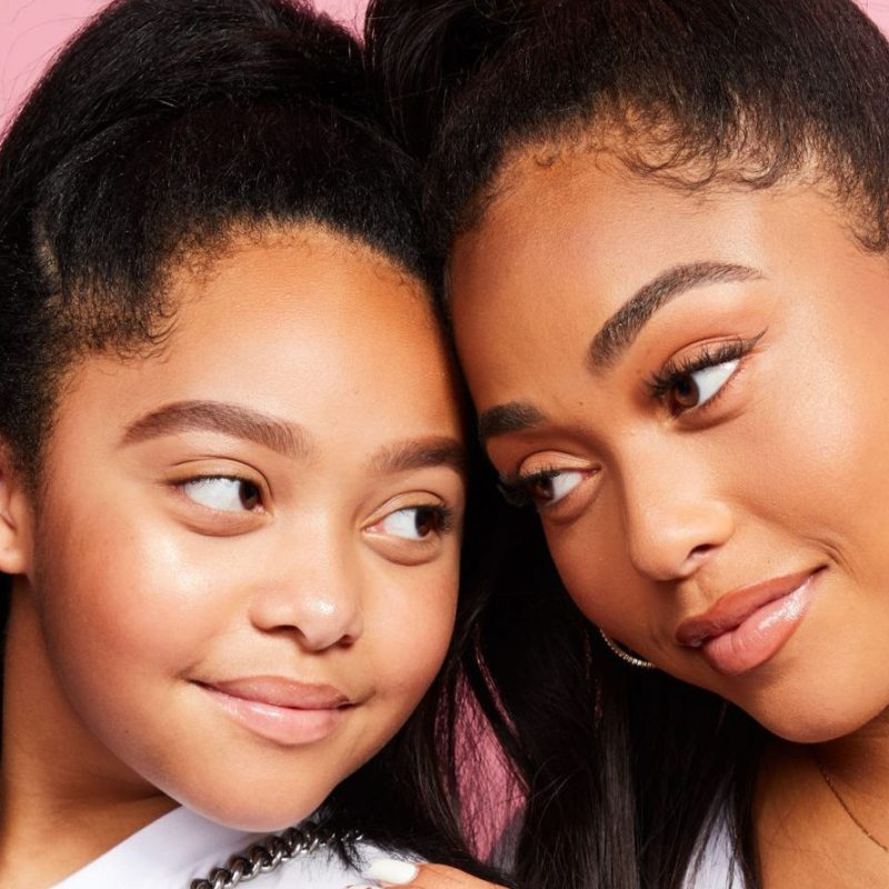 Jordyn Woods Reveals Her ~Twin~ Little Sis Jodie Can 'Unlock' Her iPhone With Her Face … Yeah, You Read That Right