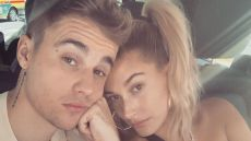 Justin Bieber and Hailey Baldwin Selfie on Vacation in Japan