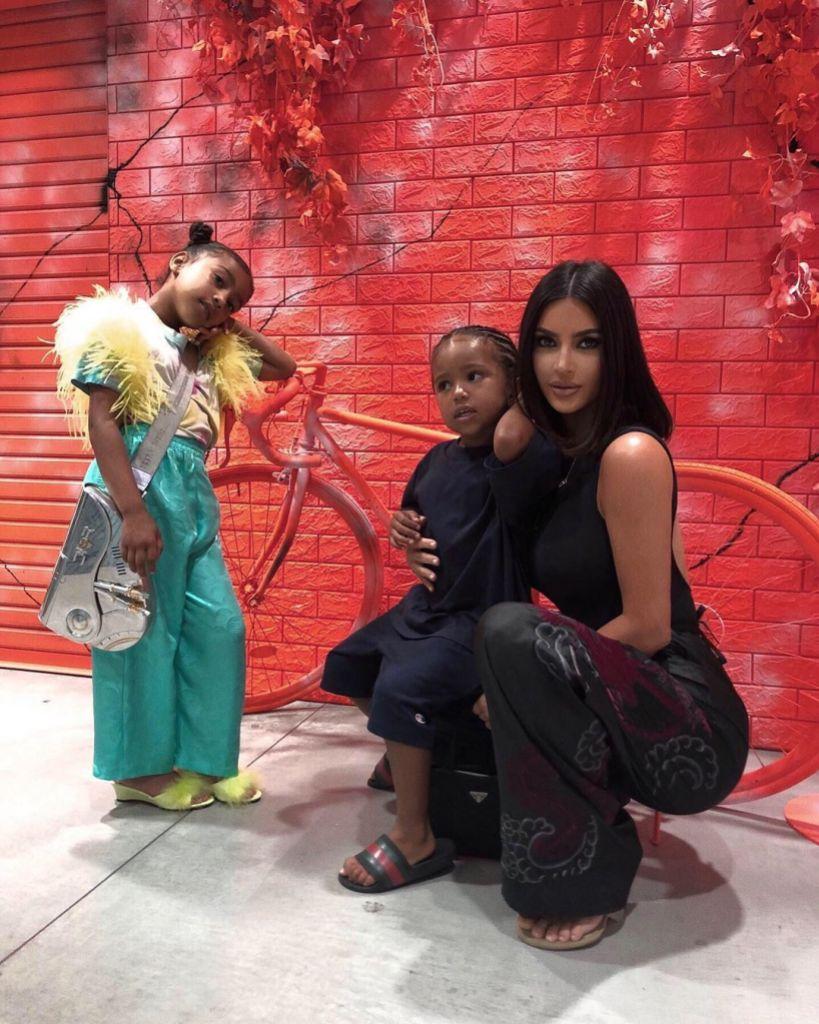 Kim Kardashian West North West Saint West Japan Vacation