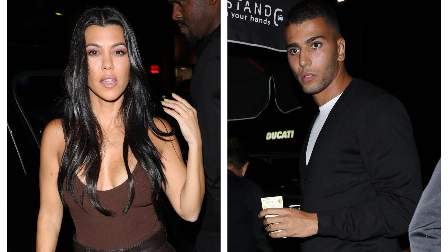 Kourtney Kardashian and Ex Younes Bendjima Reunite at Nice Guy's in L.A. and We're a Little Shook