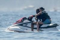 Kylie Jenner and Travis Scott on a Jet Ski