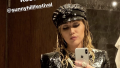 Miley Cyrus Mirror Selfie