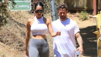 Nikki Bella and Artem Chigvintsev on a Hike