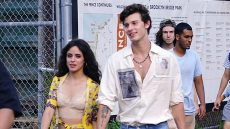Camila Cabello and Shawn Mendes Walking