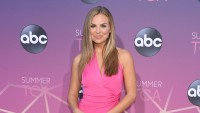 Hannah Brown Pink Dress Candid Post on Instagram She's Struggling