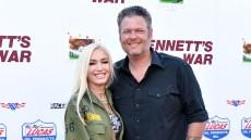 Gwen Stefani and Blake Shelton 'Bennets War' Red Carpet Premiere Date Night