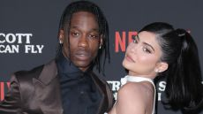 Travis Scott and Kylie Jenner Red Carpet PDA