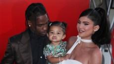 Travis Scott, Stormi Webster and Kylie Jenner 'Travis Scott: Look Mom I Can Fly' film premiere