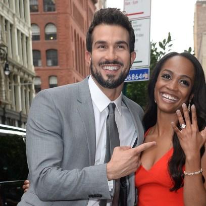 Rachel Lindsay and Bryan Abasolo Engagement Ring Married Wedding