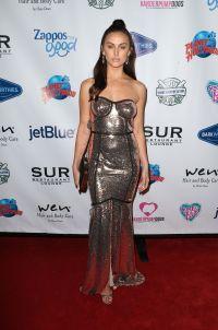 Vanderpump Rules Star Lala Kent Red Carpet Silver Dress