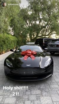 Sofia Richie New Car