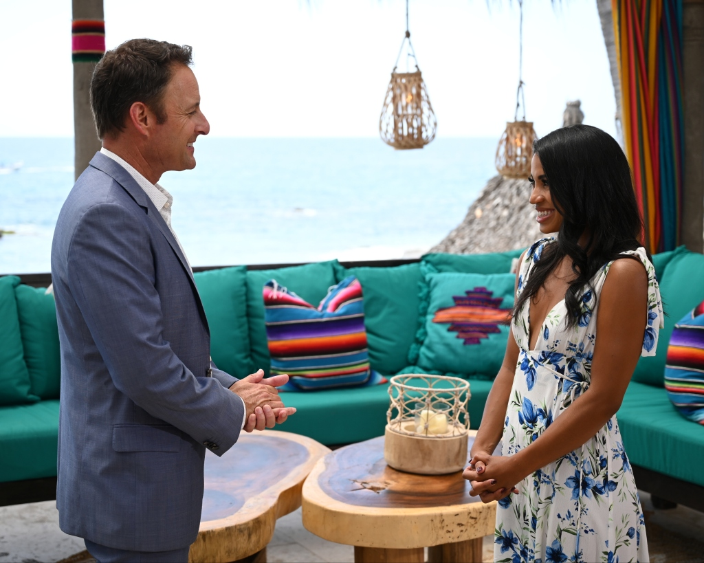 Chris Harrison and Katie Morton Bachelor in Paradise Finale
