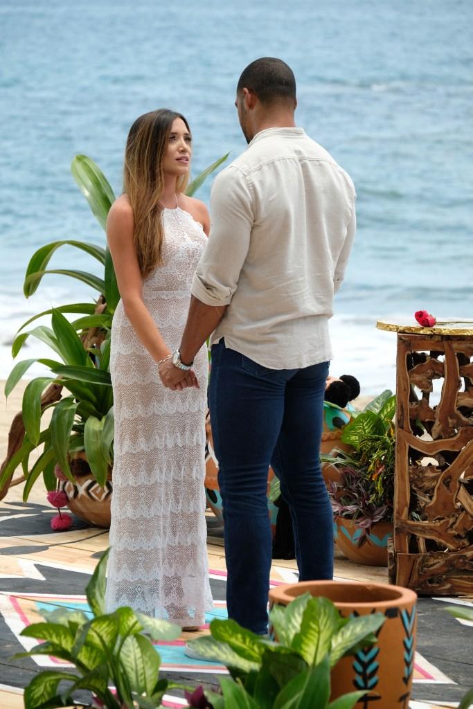 NICOLE LOPEZ-ALVAR, CLAY HARBOR Break UP on the Beach in Paradise
