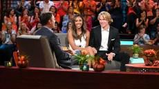 TAYSHIA ADAMS, JOHN PAUL JONES during Bachelor in Paradise finale aftershow