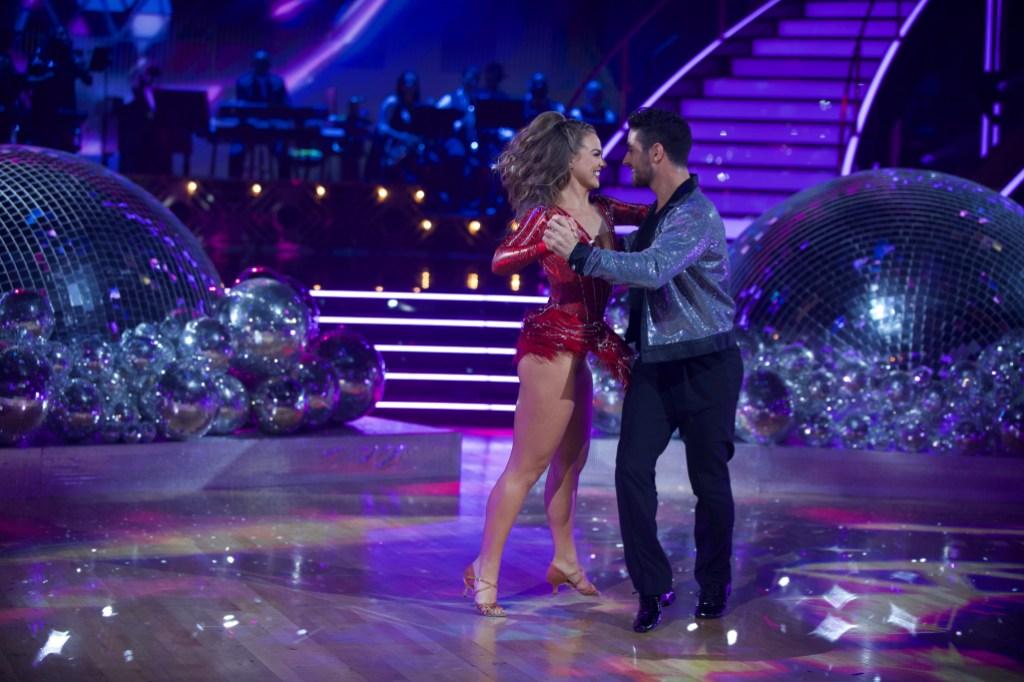 HANNAH BROWN, ALAN BERSTEN Dancing With the Stars week 1