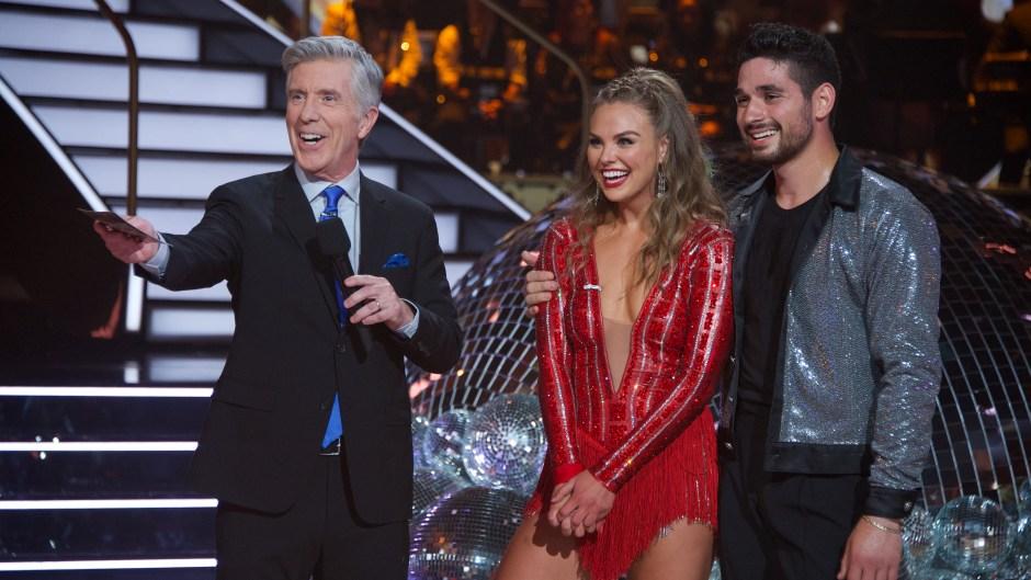 TOM BERGERON, HANNAH BROWN, ALAN BERSTEN Dancing With the Stars Season 28 Premiere