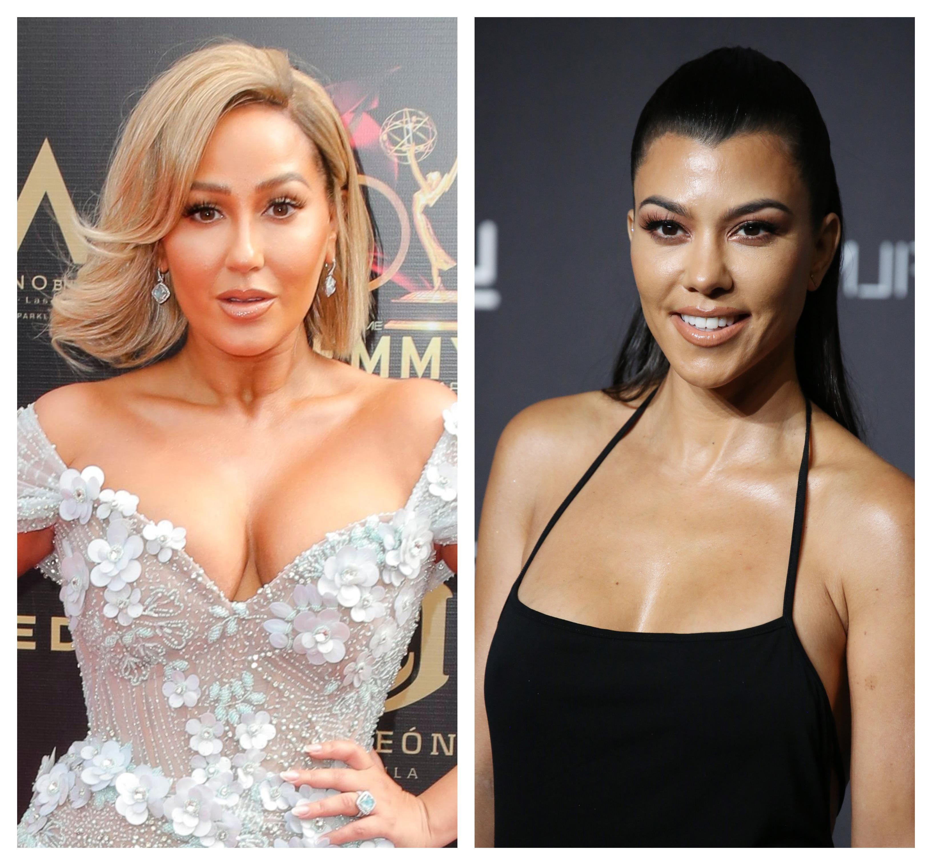 Kourtney Kardashian Gushes That Rob Kardashian's Ex Adrienne Bailon Is Her 'Sis for Life'