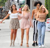 Bachelor Peter Weber Spotted Filming a Group Date