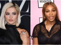 Bebe Rexha and Serena Williams Side by Side
