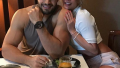 Britney Spears and Sam Asghari Having Dinner