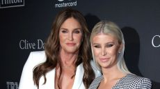 Caitlyn Jenner and Sophia Hutchins at Clive Davis' 2019 Pre-Grammy Gala