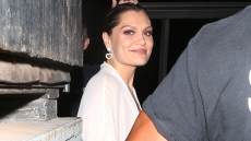 Singer Jessie J is seen leaving The Troubadour with Channing Tatum after performing live on stage