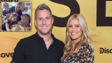 Ant Anstead and Christina Anstead at the 'Serengeti' TV show premiere, Los Angeles