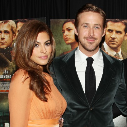Eva Mendes and Ryan Gosling at 'The Place Beyond the Pines' film premiere