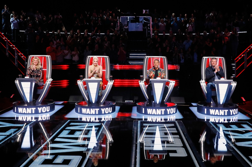 Gwen Stefani Team The Voice Talented Singers