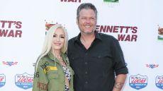 Gwen Stefani and Blake Shelton at the 'Bennett's War' film premiere