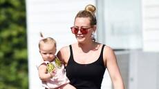 Hilary Duff Baby Banks Beauty Spa