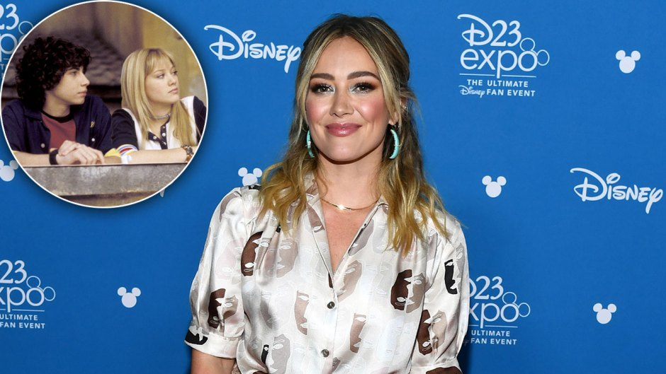 Hilary Duff Says That Lizzie McGuire Is Engaged but *Gasp* Not to Gordo