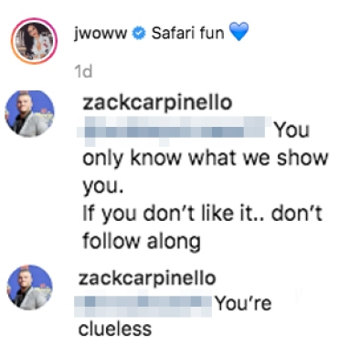 JWoww BF Zack Troll Kids Too Soon
