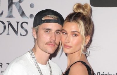 Justin Bieber and Hailey Baldwin Cuddle Up at Docuseries Premiere