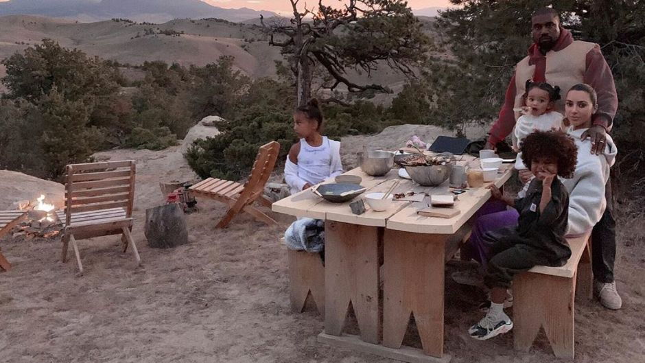 The Kardashian-West family in Wyoming