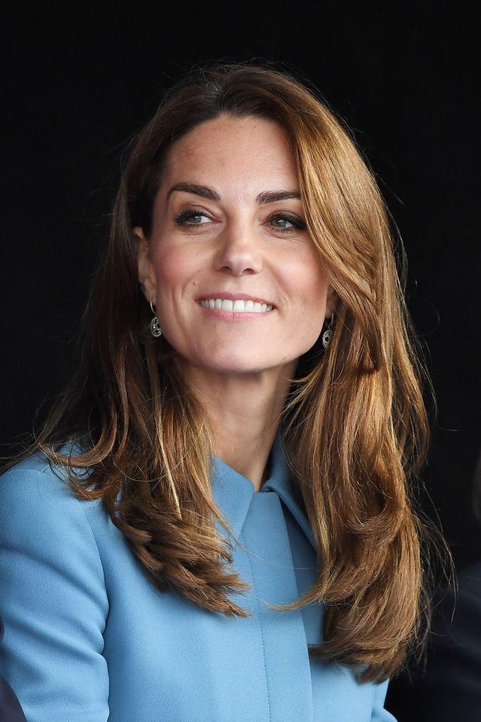 Kate Middleton, RRS Sir David Attenborough polar ship naming ceremony, Cammell Laird Shipyard, Birkenhead, UK - 26 Sep 2019