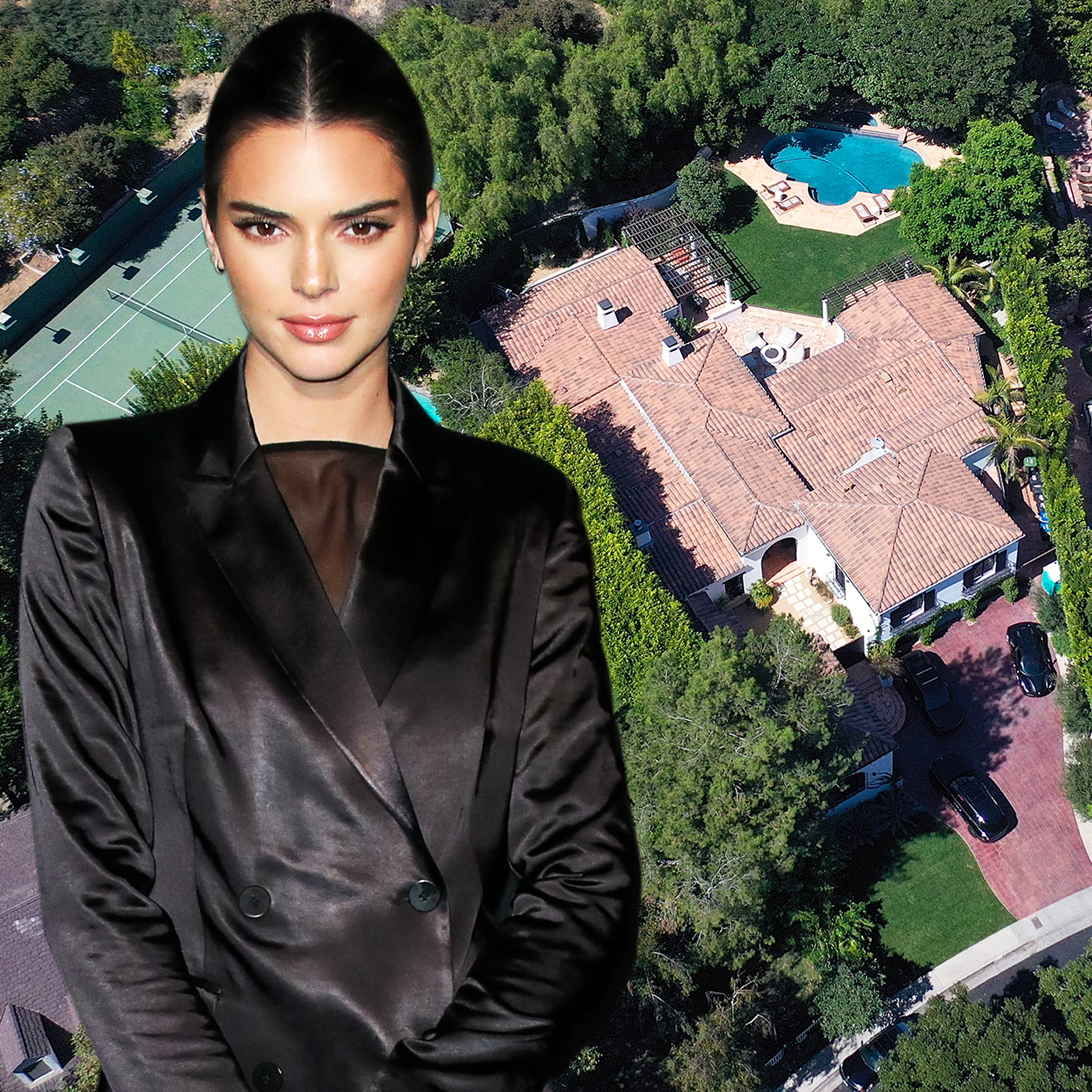 Real Estate Envy! Check Out Kendall Jenner's $9 Million Beverly Hills Mansion