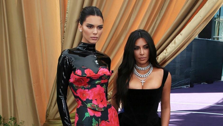 Kendall Jenner Kim Kardashian EMMYS 2019