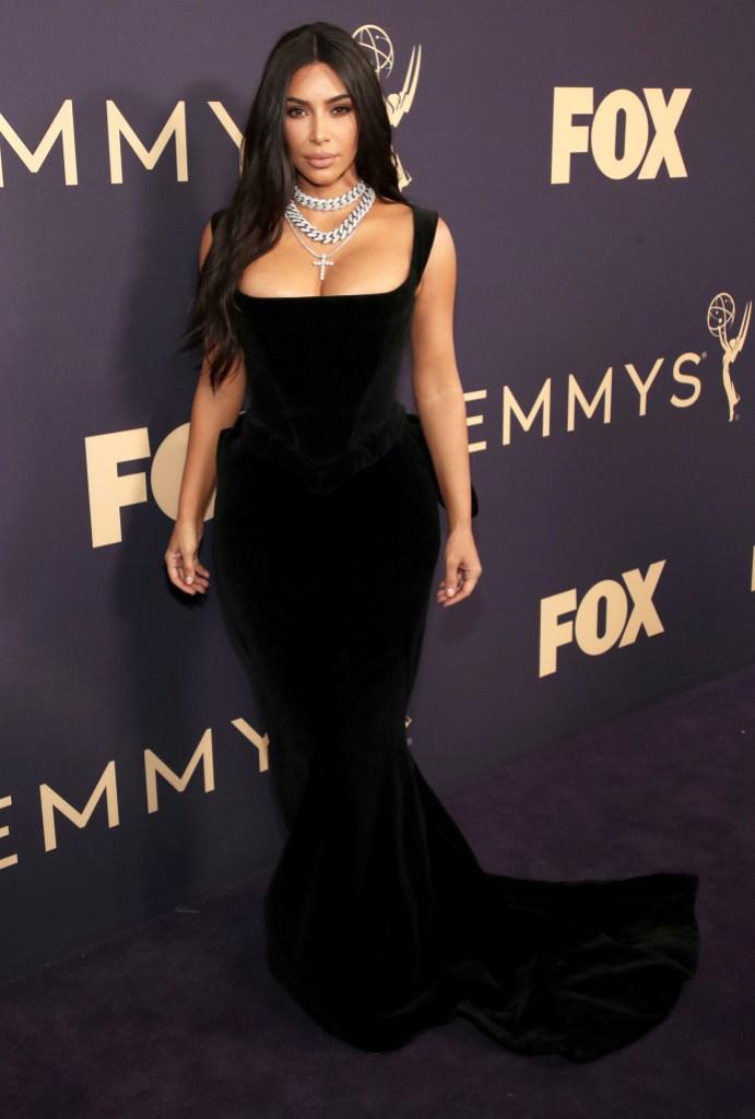 Kim Kardashian EMMYS 2019